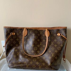 AUTHENTIC LV MM NEVERFULL